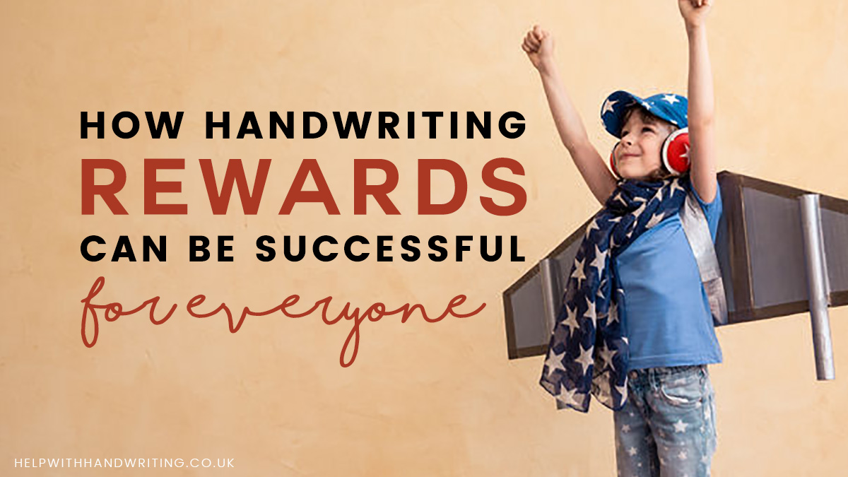 blog image for handwriting rewards blog