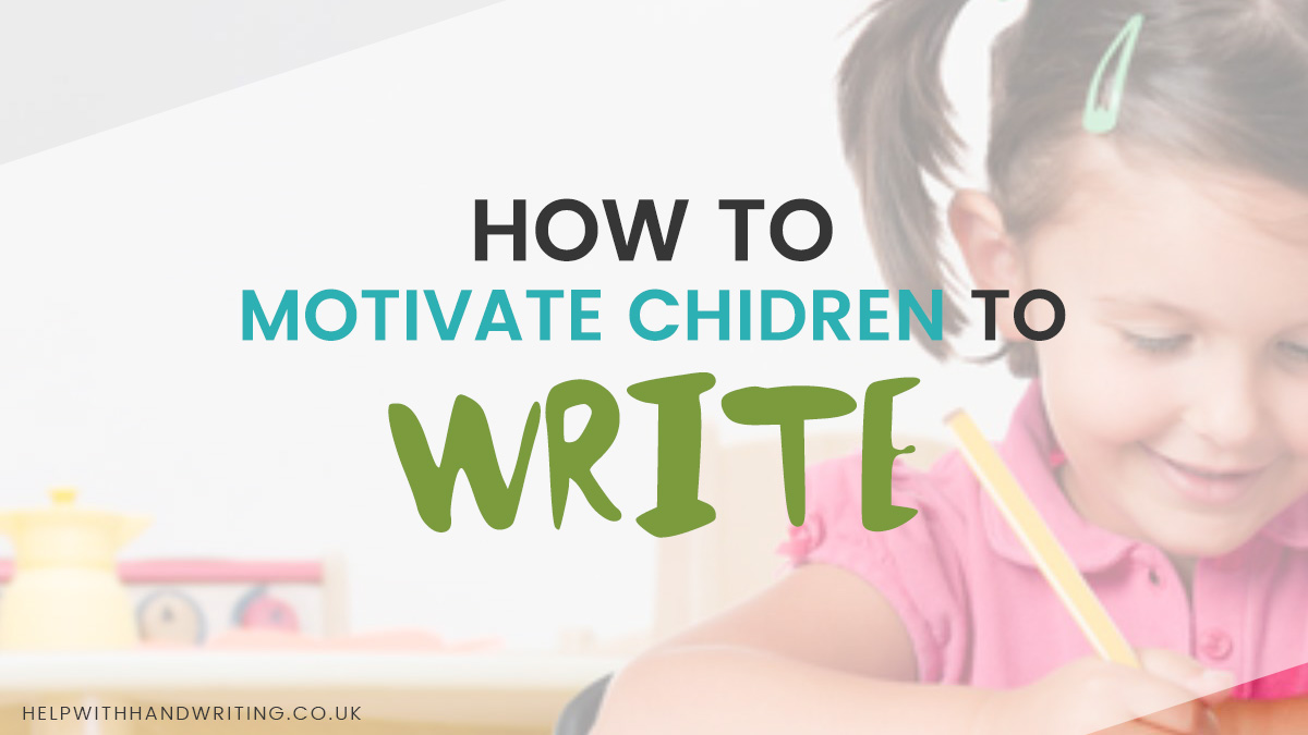 motivate children to write