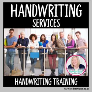 image Handwriting training product page
