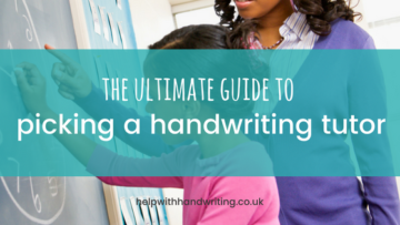 The ultimate guide to picking a handwriting tutor