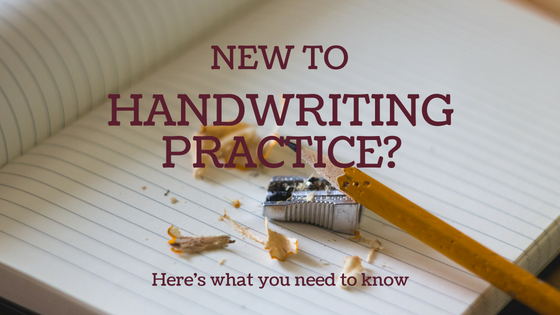 header image for page handwriting practice 5 to 6 years