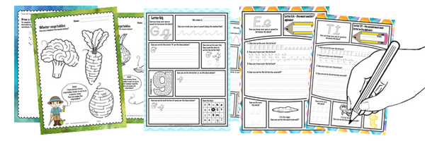 Images fo free worksheets for supercharge sign up course