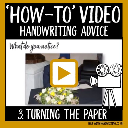 video cover turning the paper