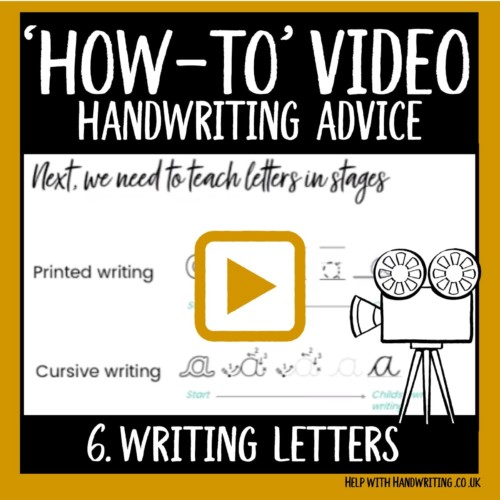 video cover image for writing letters
