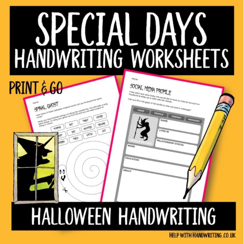Cover image for halloween handwriting