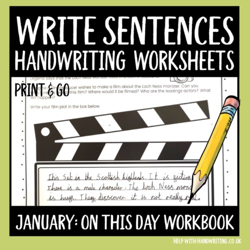 workbook Cover image for January