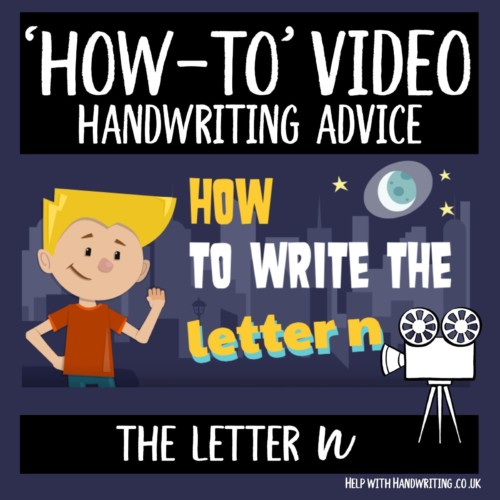 Video cover image letter n