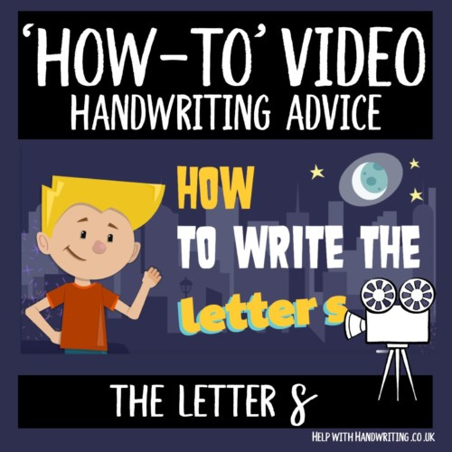 video cover image letter s