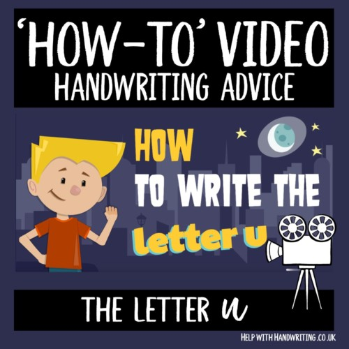 video cover image letter u