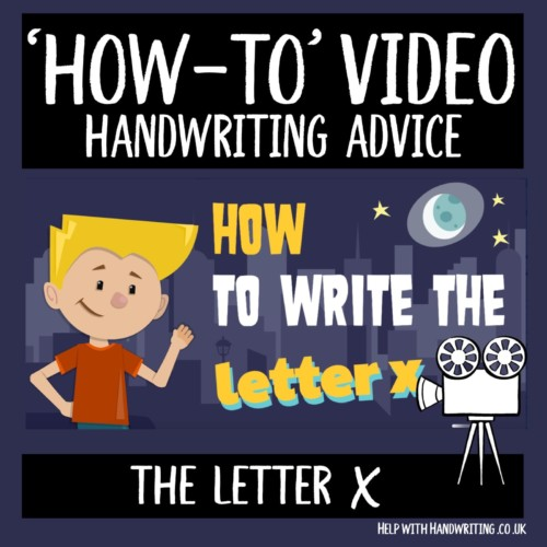 video cover image letter x