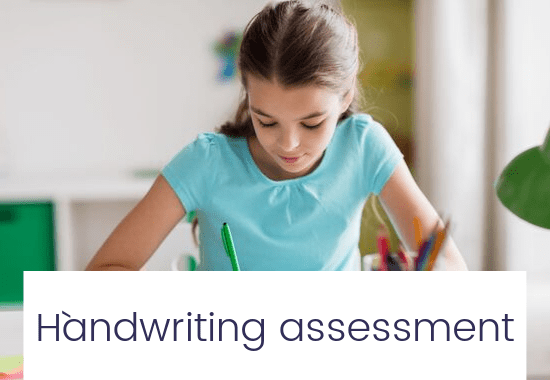 image minimised Handwriting assessment