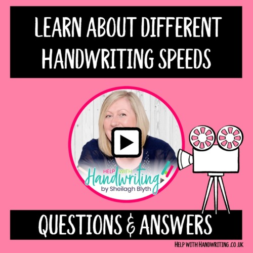 cover image-compressed, Learn about different handwriting speeds